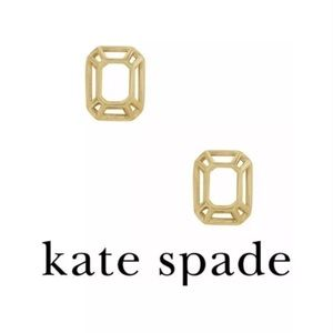 KATE SPADE FREEZE FRAMED EARRINGS